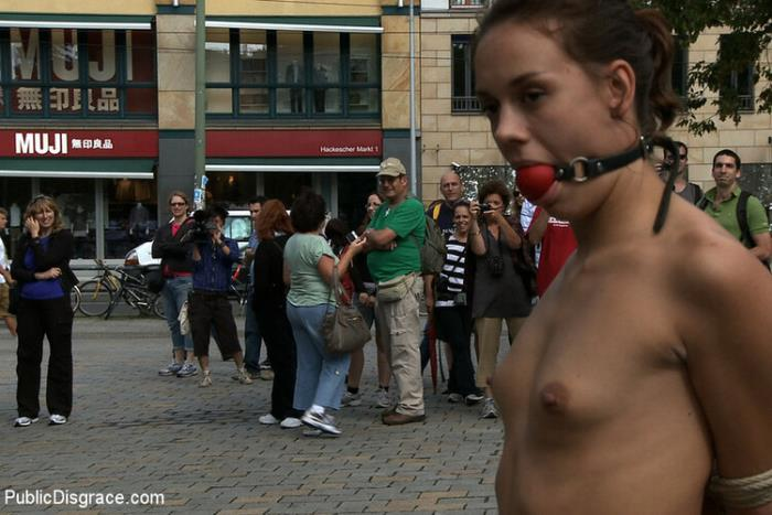 PublicDisgrace/Kink - Jacqueline Black Lady - Exposed, Fucked and Humilated all in Public (Public Sex) [HD/720p/667.81 Mb]