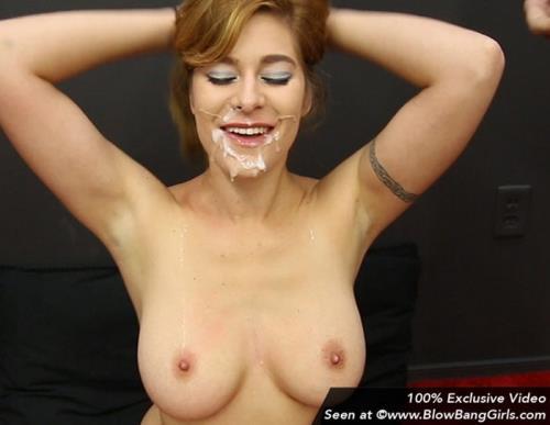 Alessa Snow - Big Tits 10 Facials with Alessa (FullHD)