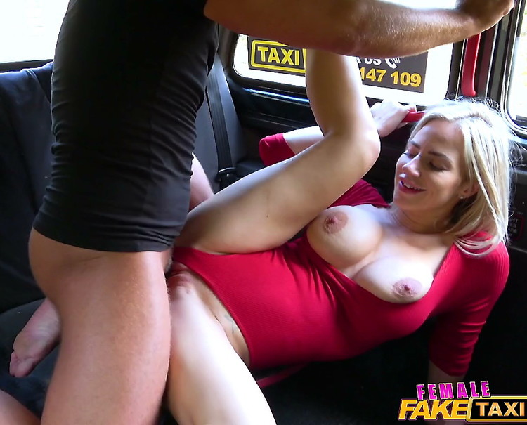 Nathaly Cherie: Wet Pussy Licked for Free Taxi Trip (HD / 720p / 2020) [FemaleFakeTaxi]