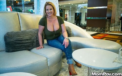 Abigail - Thick big natural tits blonde MILF (FullHD)