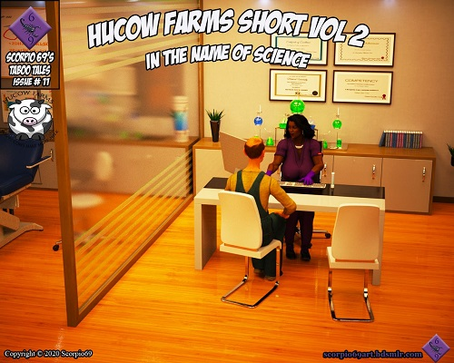Scorpio69 - Hucow Farms Short Vol 2 - In The Name Of Science