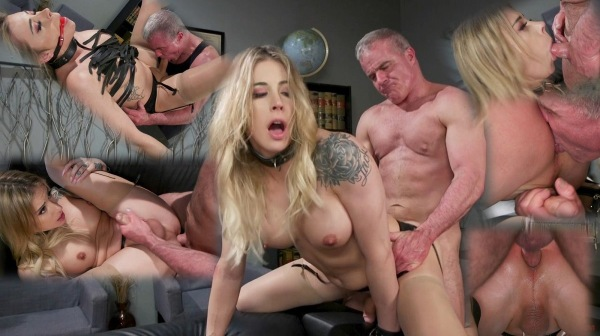 Casey Kisses - A Helping Hand Dale Savage Helps Relieve Stressed Boss Casey Kisses Cover