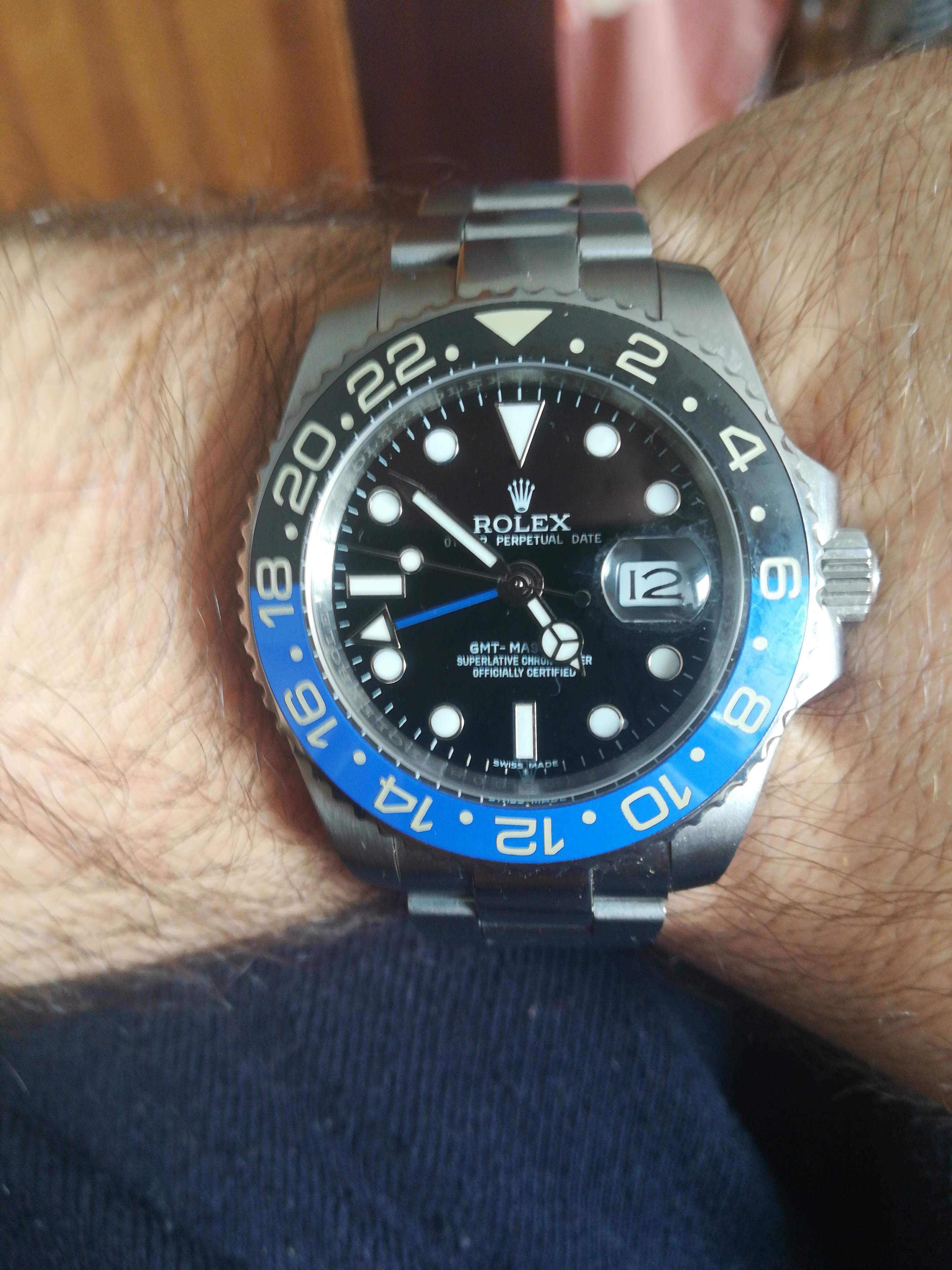 Πρώτο ρολόι ρεπλικα. GMT Master 2 - Ρολόγια Replica