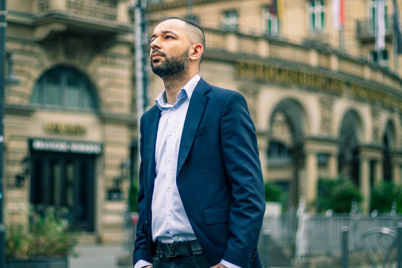 Mohamed Ali Oukassi in Frankfurt 1