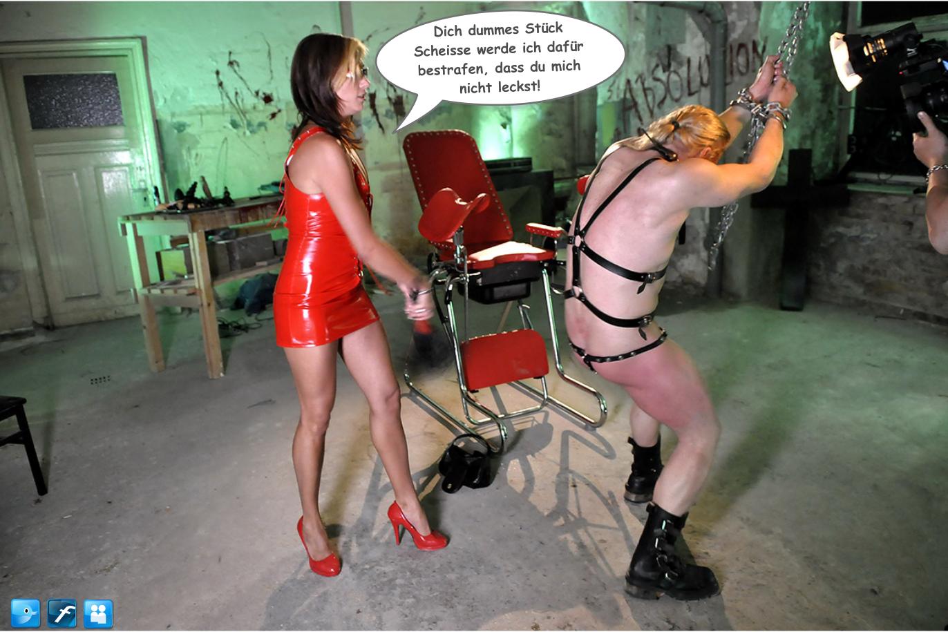 Sklave in Ketten