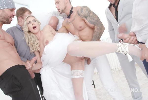 Slammed brides, Natalie Cherie No Pussy, Balls Deep Anal, DAP, Gapes, Facial GIO841 1080p