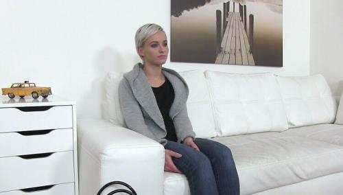 Janie Sky - Model Fucked Doggy Style on Desk (HD)