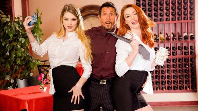 Bunny Colby, Lacy Lennon - Fucking the boss out of a job - ScamAngels/LetsDoeIt