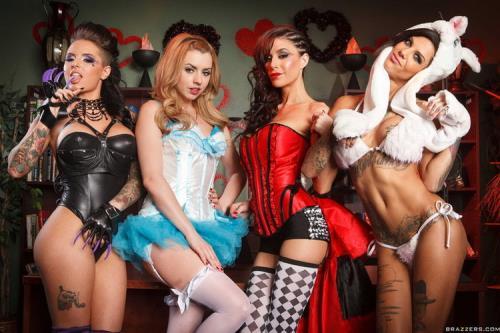 Lexi Belle, Gia Dimarco, Christy Mack, Bonnie Rotten - Wonderland (Part 2) (FullHD)