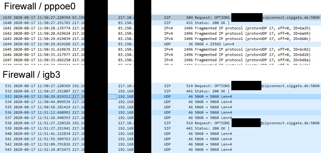 wireshark firewall dump