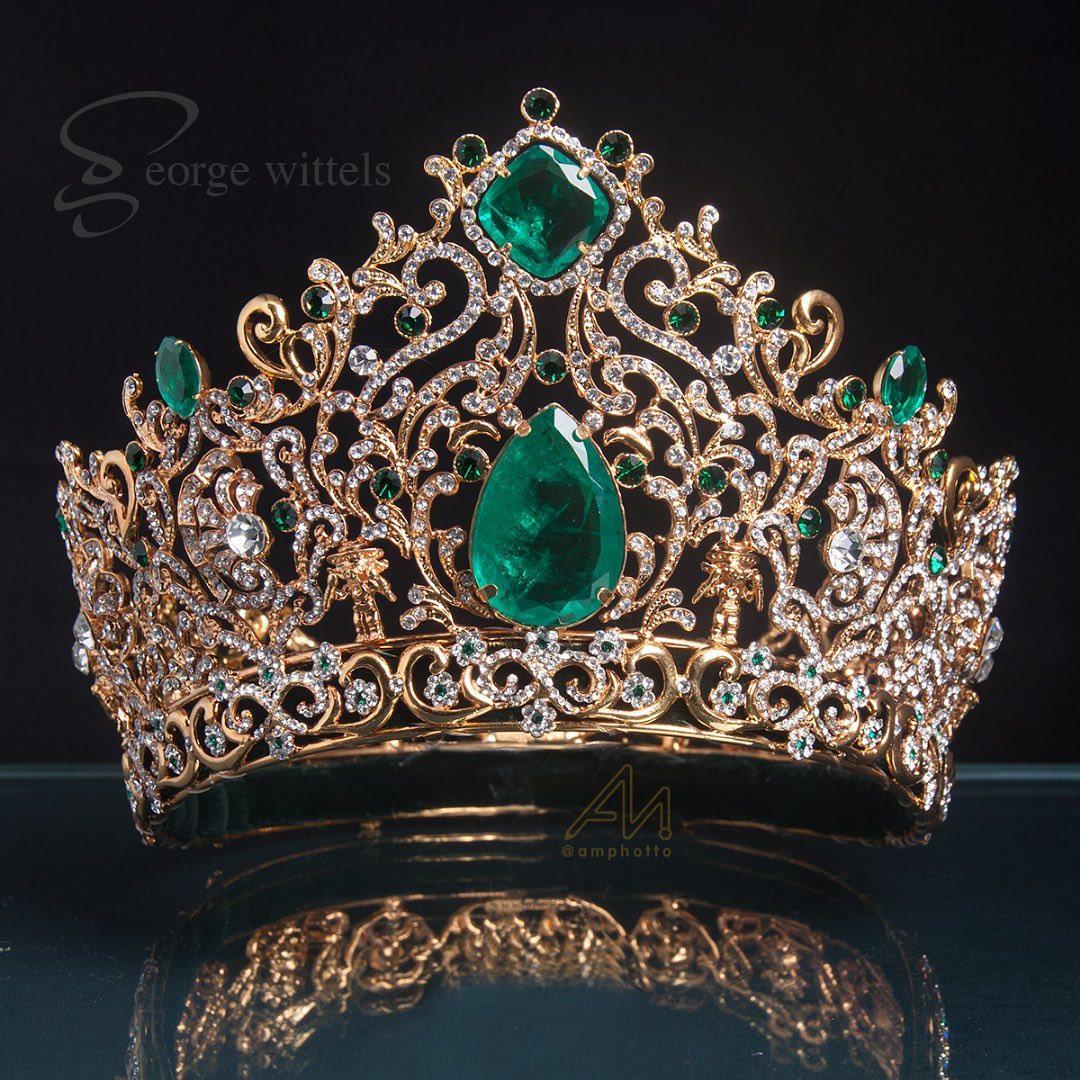 1 de estas coronas sera usada por miss grand colombia. Koyu6yuh