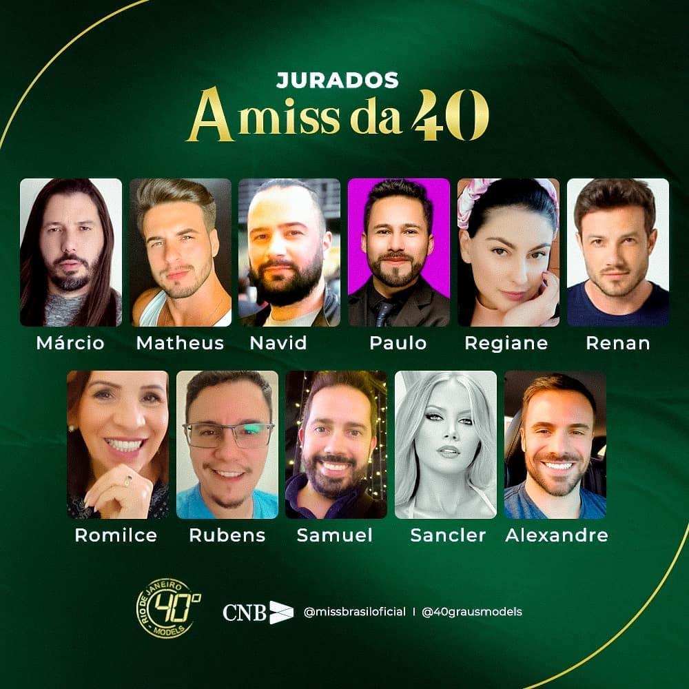 na pagina 2, vencedoras miss da 40 2020. Sd3kd3dd
