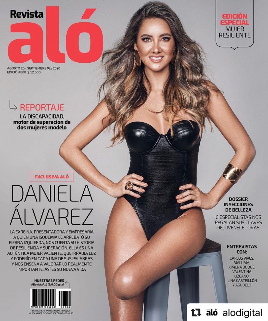 Las fotos exclusivas del renacer de Daniela Álvarez  N33n92c2