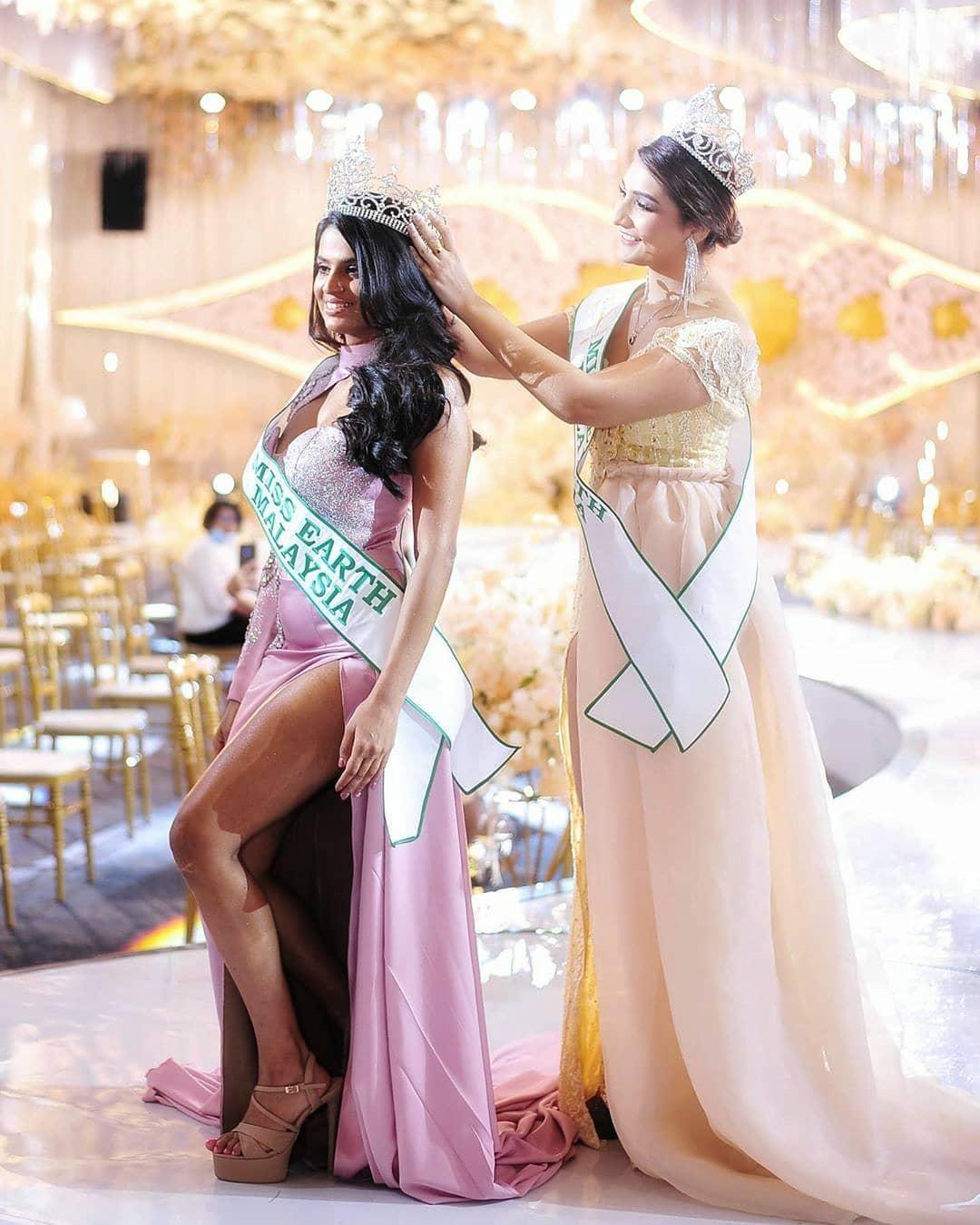 nisha thayananthan, miss earth malaysia 2020. I6uiznok