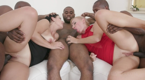 Kinky Interracial Orgy With Janice United And Ketti KS134