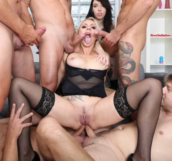 Brittany Bardot, Giada Sgh - Squirt, Pee, Brittany Bardot Drinks everything with Balls Deep Anal, DAP, Gapes, Buttrose, Creampie, Swallow GIO1593 1080p