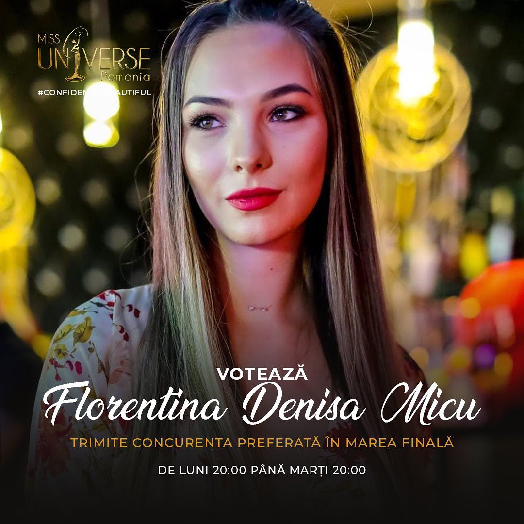 candidataas a miss universe romania 2020. final: ? - Página 2 4cybbnbl