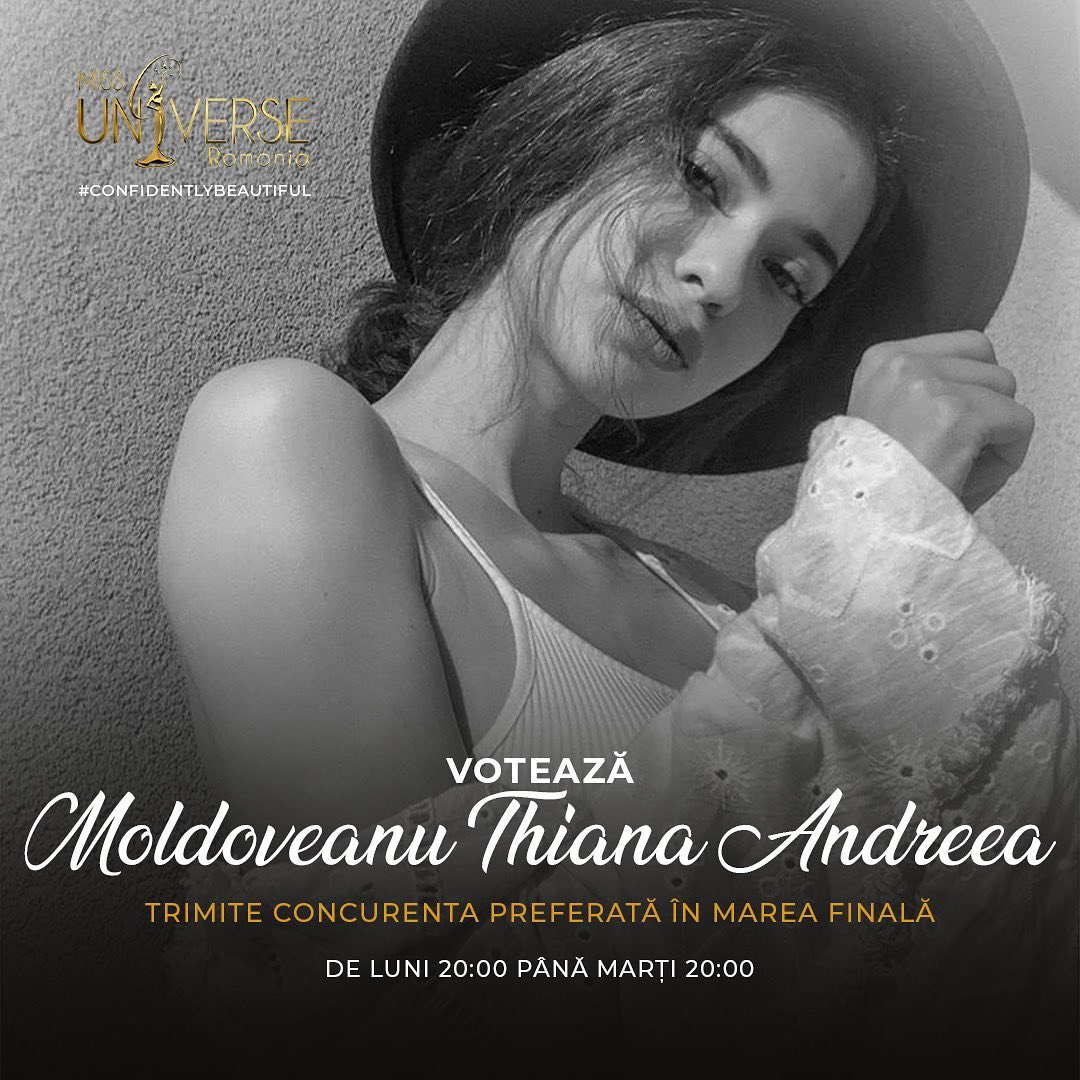 candidataas a miss universe romania 2020. final: ? 4j5n3b4y