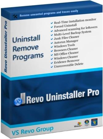 Revo Uninstaller Pro 4.4.0 RePack & Portable by KpoJIuK