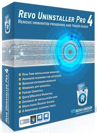 Revo Uninstaller Pro 4.3.8 RePack & Portable by TryRooM
