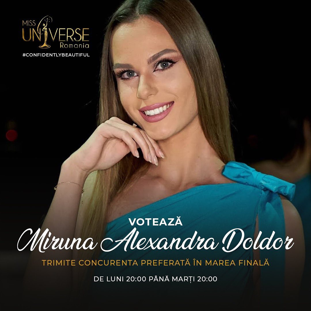 candidataas a miss universe romania 2020. final: ? Tbdzirci