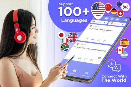Talking Translator Premium (Говорящий переводчик) 1.6.0 [Android]