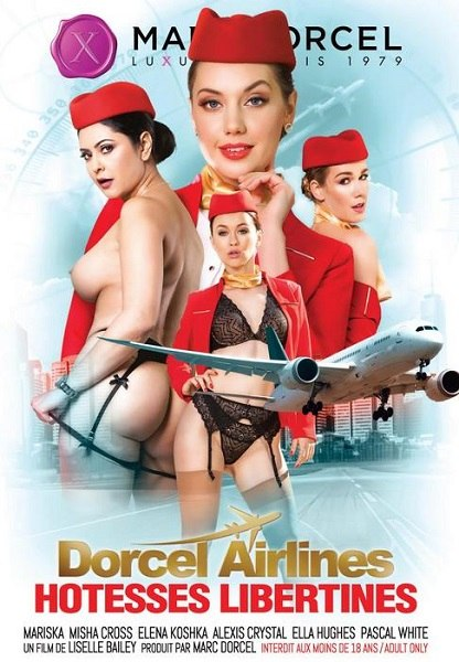 Dorcel Airlines Hotesses libertines 720p