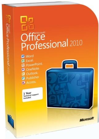 Microsoft Office 2010 Pro Plus SP2 14.0.7258.5000 VL RePack by SPecialiST v20.10