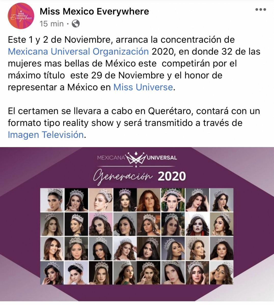 candidatas a mexicana universal 2020. final: 29 november. - Página 3 C2a7z8la