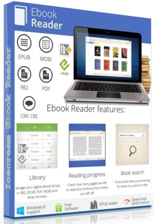 Icecream Ebook Reader Pro 5.23
