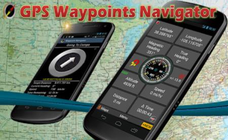 GPS Waypoints Navigator 9.19 (Android)