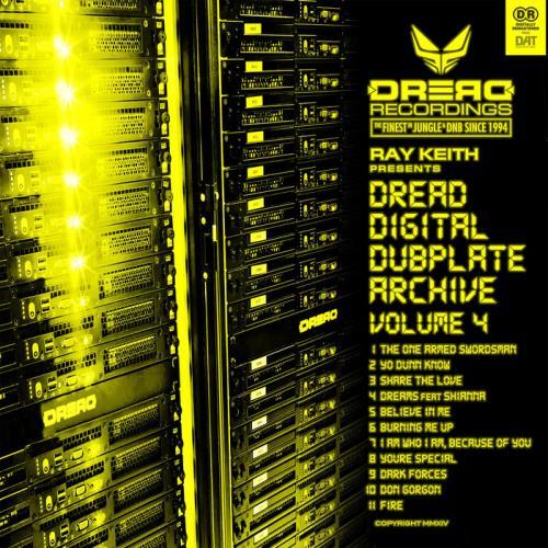 Ray Keith - Dread Digital Dubplate Archive Vol 4 (2020)
