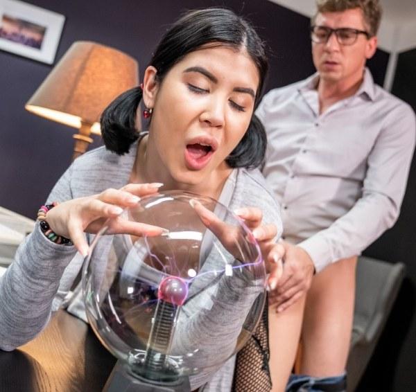 Lady Dee - Teacher fucks sexy student on desk 1080p