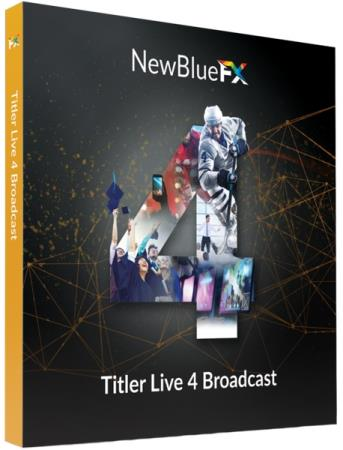 NewBlue Titler Live 4 Broadcast 4.2.210811