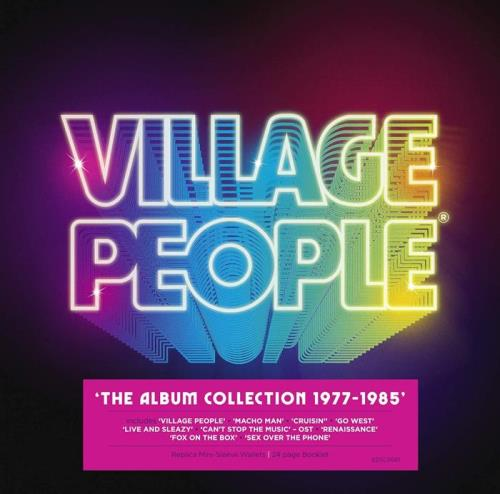 Village People — The Album Collection 1977-1985 [10CD] (2020) FLAC