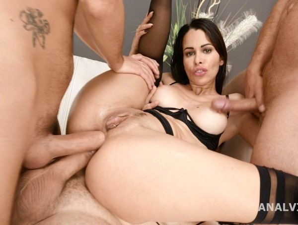 DAP Destination, Jessy Jey 4 On 1 Balls Deep Anal, DAP, Gapes Creampie And Swallow GIO1611 1080p