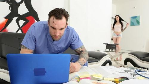 Marley Brinx - Stepbrother Needs To Study My Pussy (FullHD)