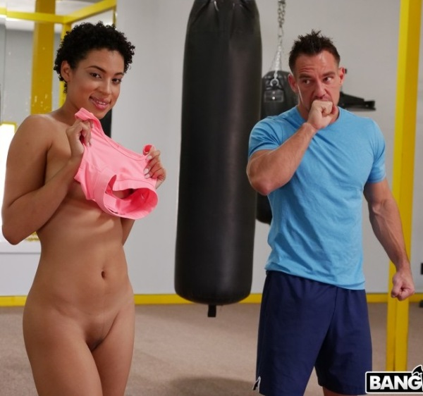 Amethyst Banks - Boxing Training Led To Hot Sex 1080p