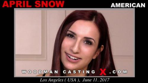April Snow - Hard - My first anal sex with a man (FullHD)