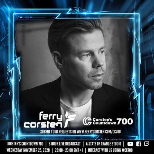 Ferry Corsten — Corsten's Countdown 700 (2020-11-27)