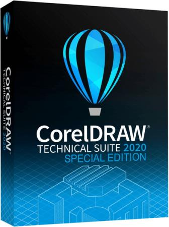 CorelDRAW Technical Suite 2020 22.2.0.532 + Content