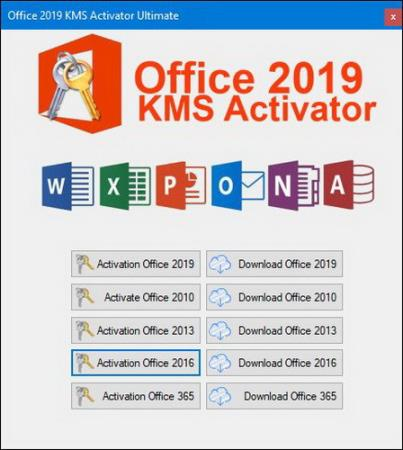 Office 2019 KMS Activator Ultimate 1.8