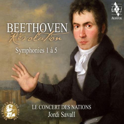 Jordi Savall — Beethoven: Revolution, Symphonies 1 a 5 (2020)