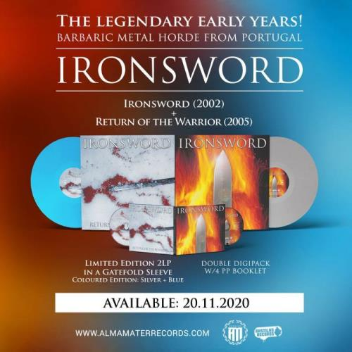Ironsword — Ironsword / Return of the Warrior (2020) FLAC