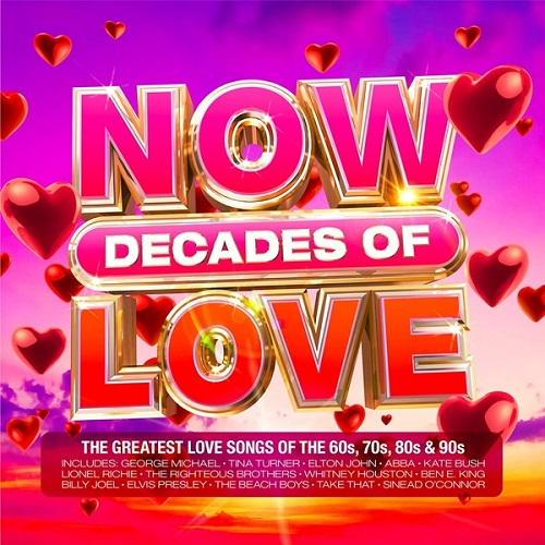 NOW Decades Of Love (4CD) (2021)