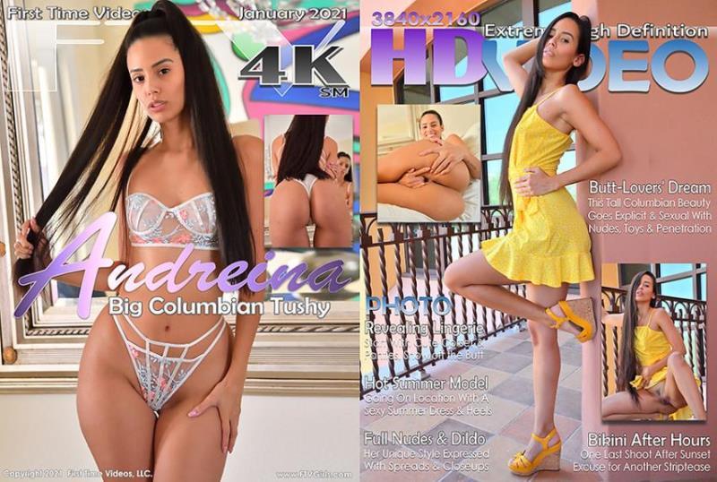FTVGirls.com: Andreina Deluxe - Big Columbian Tushy [FullHD 1080p] (6.95 Gb)