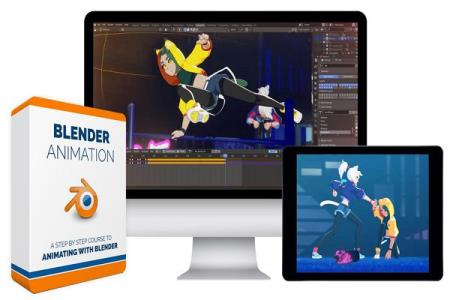 Blender Animation Курс (2020) HDRip