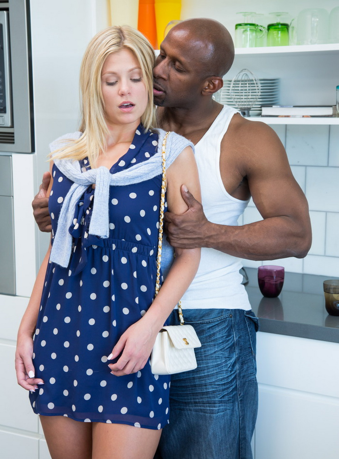 Blacked: Scarlet Red - Preppy Blonde Girl Loves Big Black Dick [SD 480p] (Interracial)