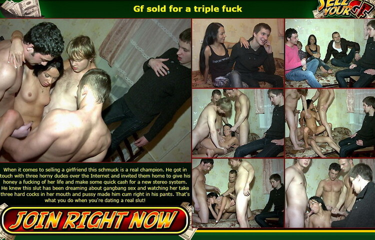 Sellyourgf: Nastia Goldis - Gf sold for a triple fuck [HD|720p|508 MB]