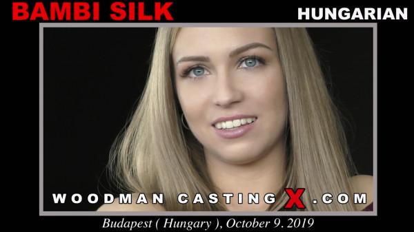 WoodmanCastingX.com: Bambi Silk - BAMBI SILK CASTING [FullHD 1080p 4.03 Gb]